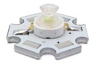Immagine di Serie HPS8 LED EMETTITORI AD ALTA LUMINOSITA' CON BASETTA - 5W