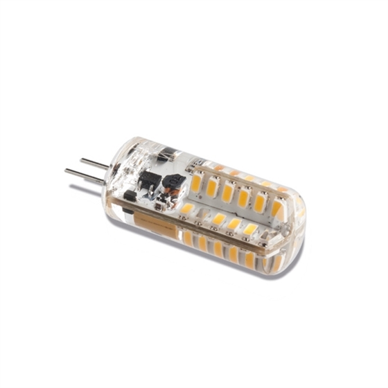 Immagine di G4 smd 48LED warm white 12V, 1,9W silicone