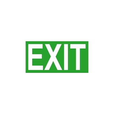 Immagine di EXIT PICTO-EXIT Segnale uscita di sicurezza