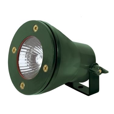 Immagine di FARETTO - AKVEN EL-35-GN Portalampada impermeabile per lampade alogene