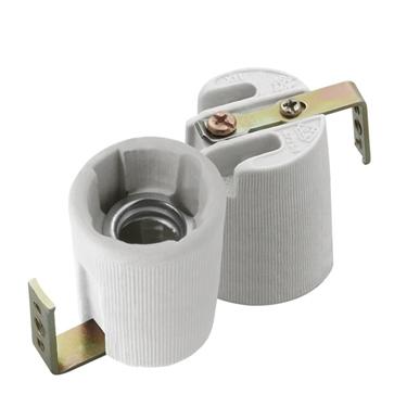 Picture of HLDR-E14-F Portalampada in ceramica