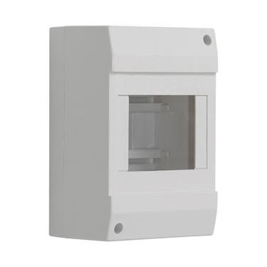 Picture of DB104W 1X4P/SM - Quadro di distribuzione con guide DIN