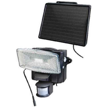 Picture of Luce solare da parete 8 LED nero
