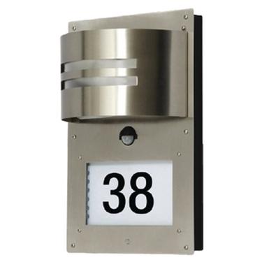 Picture of Lampada con doppio sensore per esterni con numero civico