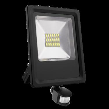 Immagine di PROIETTORE LED SMD 50W - CW - con sensore