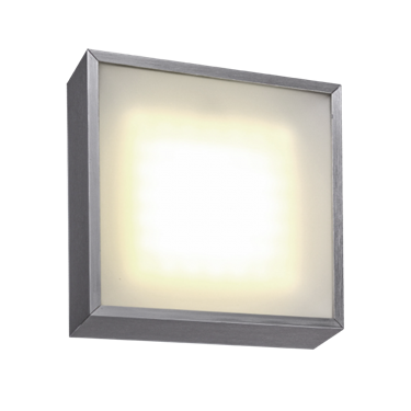 Picture of PLAFONIERA DA INTERNO LED  - ALL-DAY  20W - 195x195x58mm