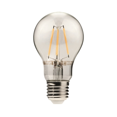Immagine di DIXI FILLED 4W E27 - WW - lampadina led a filamento TYPO A