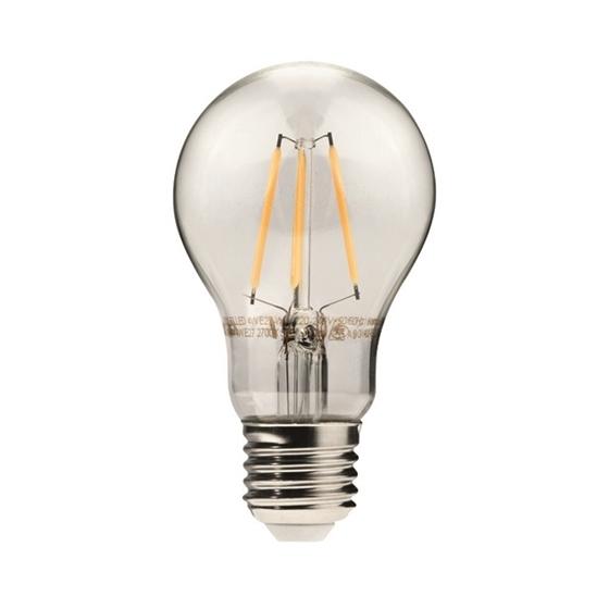 Immagine di DIXI FILLED 6W E27 - WW - lampadina led a filamento TYPO A