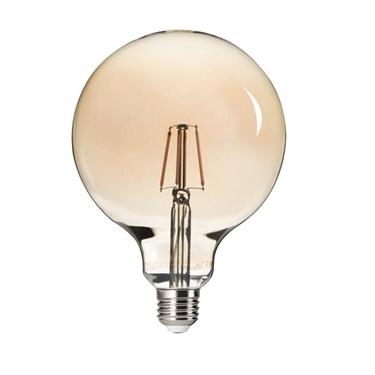 Picture of G125 FILLED 6W E27 - WW - LAMPADA GLOBO LED A FILAMENTO