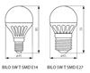 Picture of BILO 3W T SMD E27 - WW - LAMPADINA MINI GLOBO LED CON VETRO BIANCO