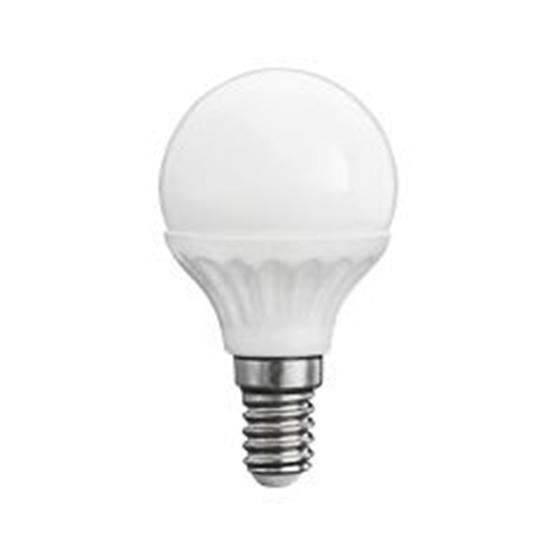 Immagine di BILO 5W T SMD E14 - WW - LAMPADINA MINI GLOBO LED CON VETRO BIANCO