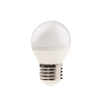 Picture of BILO 6,5W T SMD E27 - LAMPADINA MINI GLOBO LED CON VETRO BIANCO