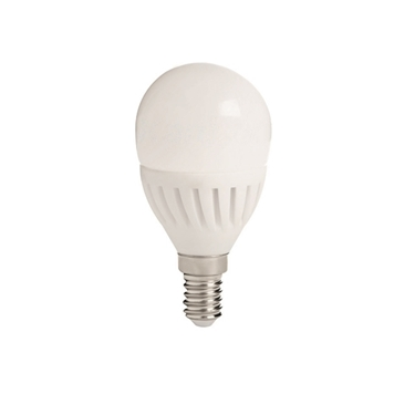 Picture of BILO HI 8W E14 - LAMPADINA MINI GLOBO LED CON VETRO BIANCO