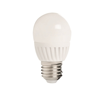Picture of BILO HI 8W E27 - LAMPADINA MINI GLOBO LED CON VETRO BIANCO