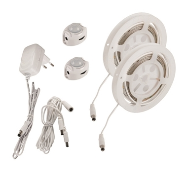 Immagine di Set LED con sensore di movimento - LEDS SET B - SE DBL - 6,5W - 1,2M