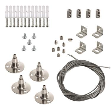 Immagine di KIT SPN BRAVO S/P 12030 - cavo in acciaio per la sospensione delle plafoniere della serie BRAVO 12030