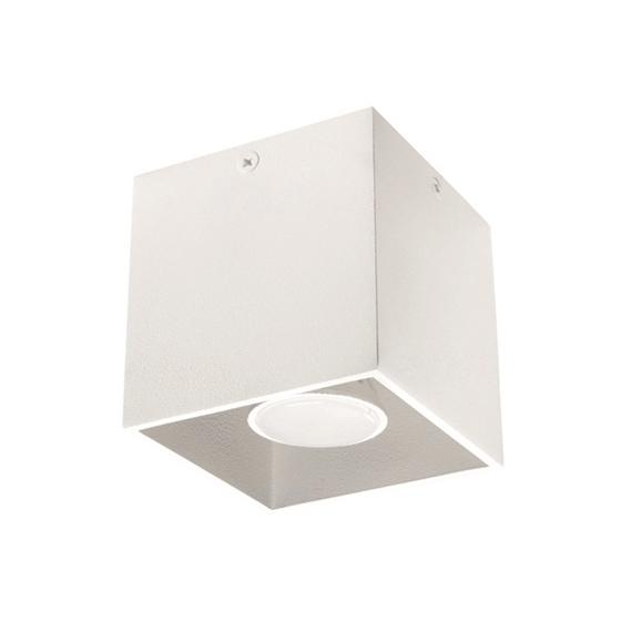 Picture of ALGO GU10 CL-W - faretto non a incasso da soffitto quadrato