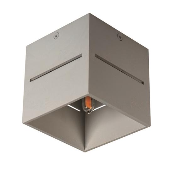 Picture of ASIL G9 C-GR - faretto non a incasso da soffitto quadrato
