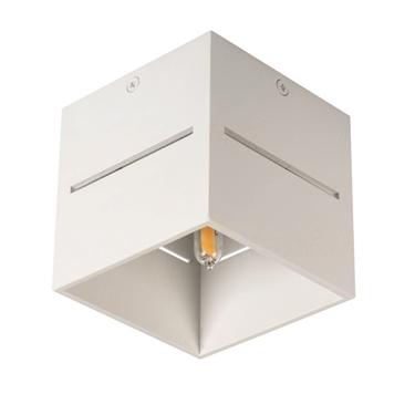 Picture of ASIL G9 C-W- faretto non a incasso da soffitto quadrato