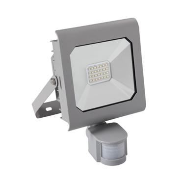 Immagine di ANTRA LED 20W - NW - SE - GR - IP44 - FARO LED DA ESTERNO CON SENSORE DI MOVIMENTO
