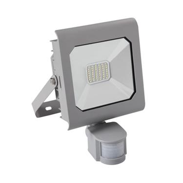 Immagine di ANTRA LED 30W - NW - SE - GR - IP44 - FARO LED DA ESTERNO CON SENSORE DI MOVIMENTO