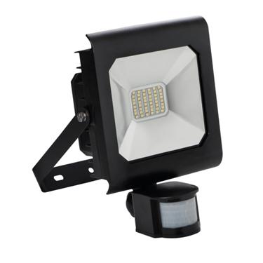 Immagine di ANTRA LED 30W - NW - SE - B - IP44 - FARO LED DA ESTERNO CON SENSORE DI MOVIMENTO
