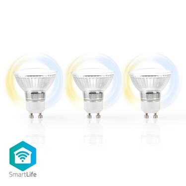 Picture of LAMPADINE LED SMART WI-FI - GU10 - confezione da 3 - CW-WW - 5W