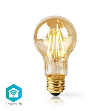 Picture of LAMPADINA LED SMART WI-FI CON FILAMENTO - WW - E27- A60 | 5 W | 500 lm