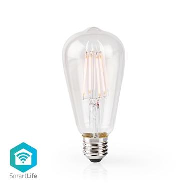 Immagine di LAMPADINA LED SMART WI-FI CON FILAMENTO - WW - E27- ST64 | 5 W | 500 lm - TRASPARENTE