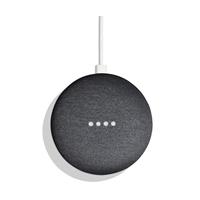 Immagine di GOOGLE HOME MINI - Altoparlante wireless nero US + adattatore