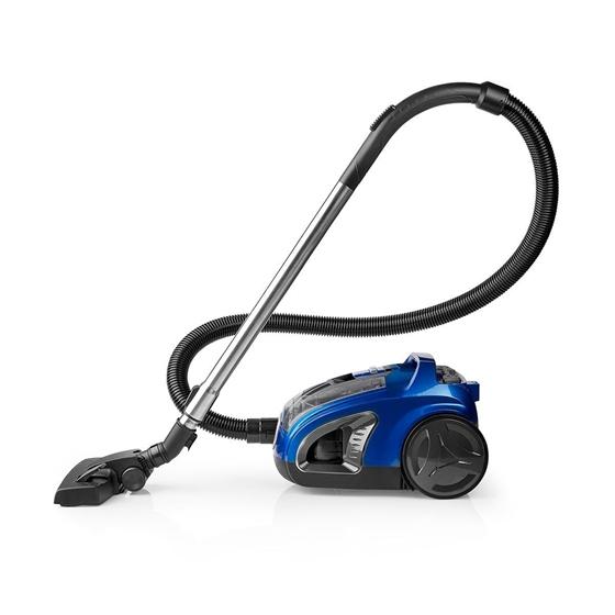 Immagine di Aspirapolvere | Senza Sacchetto | 500 W | Spazzola per Parquet | 3,0 L di Capacità | Blu