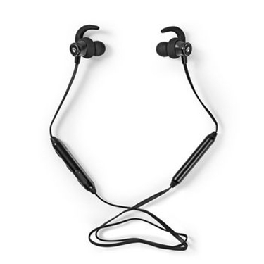 Immagine di Cuffie sportive | Bluetooth | Auricolari | Cavo flessibile | Nero