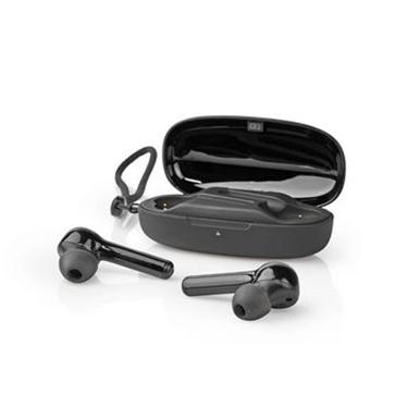 Picture of Auricolari Bluetooth® Completamente Wireless   6 Ore di Riproduzione   Controllo Vocale   Controllo Touch   Custodia di Ricarica   Nero
