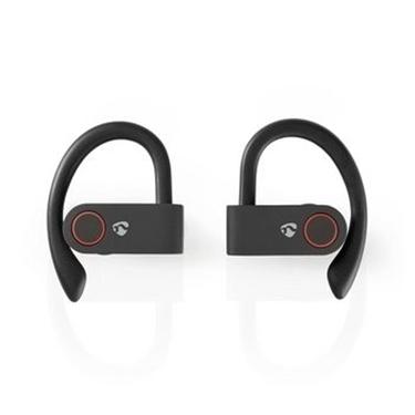 Picture of Auricolari per lo Sport Bluetooth® Completamente Wireless   8 Ore di Gioco   Archetti per le Orecchie   Controllo Vocale   Custodia di Ricarica   Nero