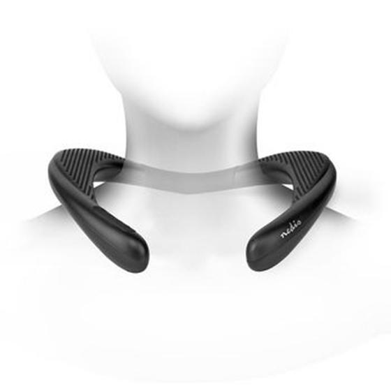Immagine di Altoparlante Bluetooth® da Collo   2 x 4,5 W   Bluetooth® 5.0   Fino a 10 ore di Autonomia di Riproduzione   Nero