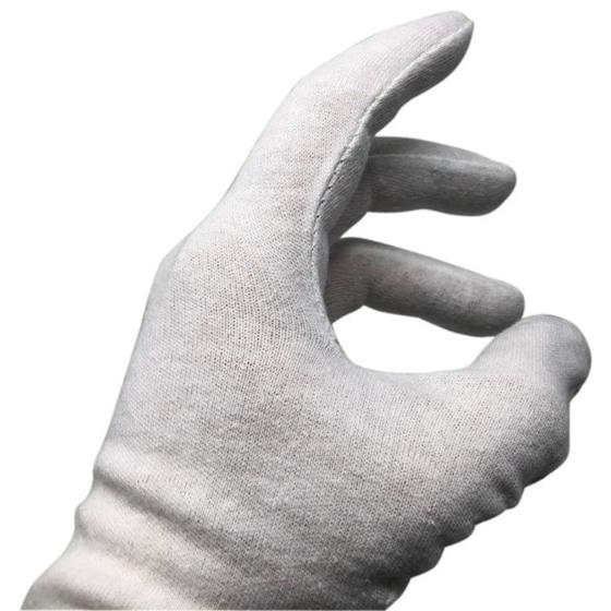 Immagine di Paio di guanti in cotone lavabile e traspirante