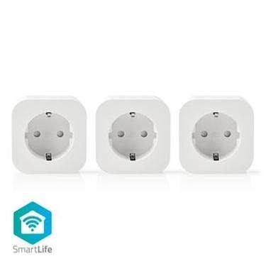 Picture of Spina Smart Wi-Fi   Schuko Tipo F   10 A   Confezione da 3
