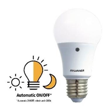 Picture of E27 LED A60 8.5 W 806 lm 2700 K - LAMPADA CON SENSORE LUCE