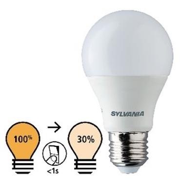 Picture of E27 LED A60 8.5 W 806 lm 2700 K - CON REGOLAZIONE DI LUCE