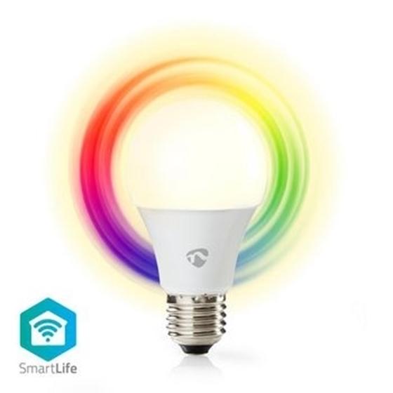 Immagine di Lampadina LED smart Wi-Fi | Colore pieno e bianco caldo | E27 - RGB+LUCE CALDA - DIMM