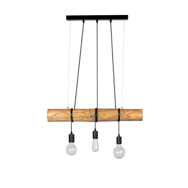 Immagine di TRABO SHORT - LAMPADINA - 3XE27 -  Brown/Black