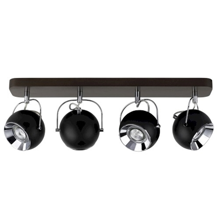 Picture for category BALL WOOD - A SOFFITTO - NOCE/NERO - vari modelli e colori