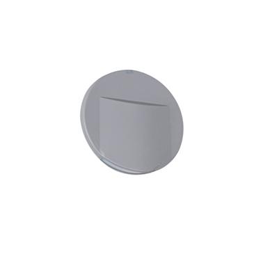 Picture of ERINUS LED O - SEGNAPASSO ROTONDO GRIGIO - 0.8W - IP20